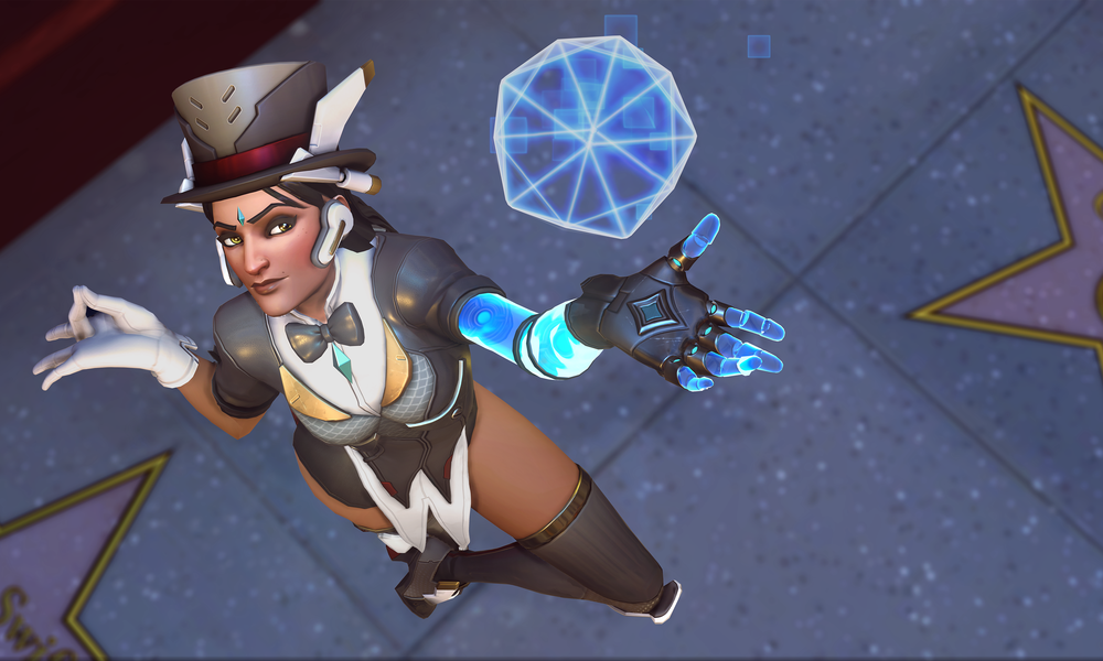 Symmetra has received a massive rework on the Overwatch test server