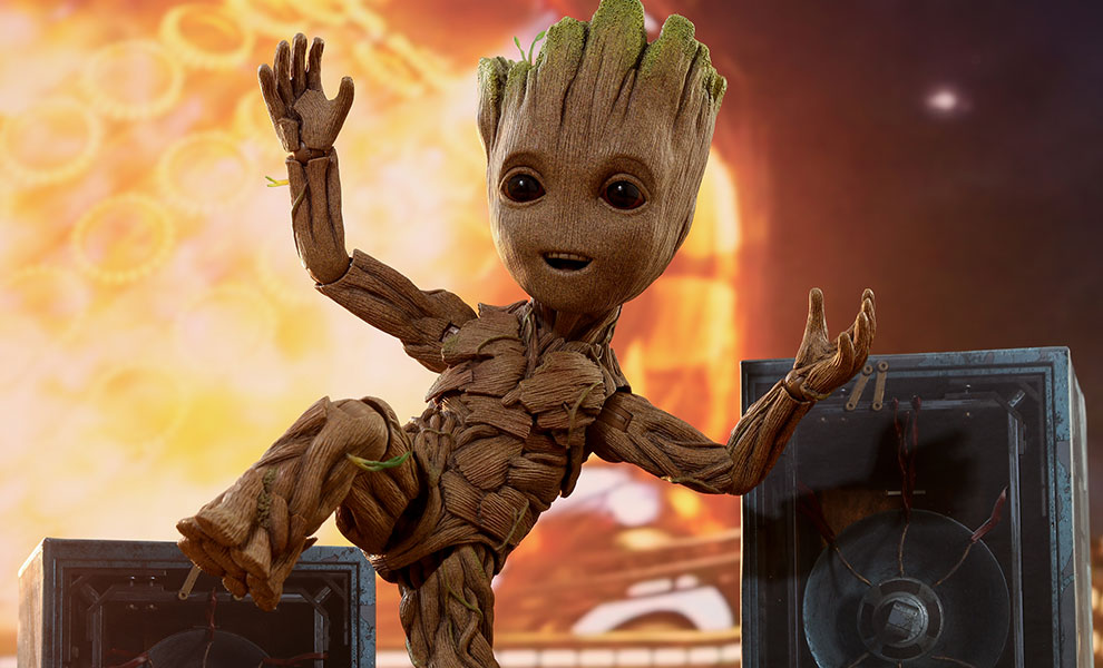 A life-sized Groot can finally be yours!