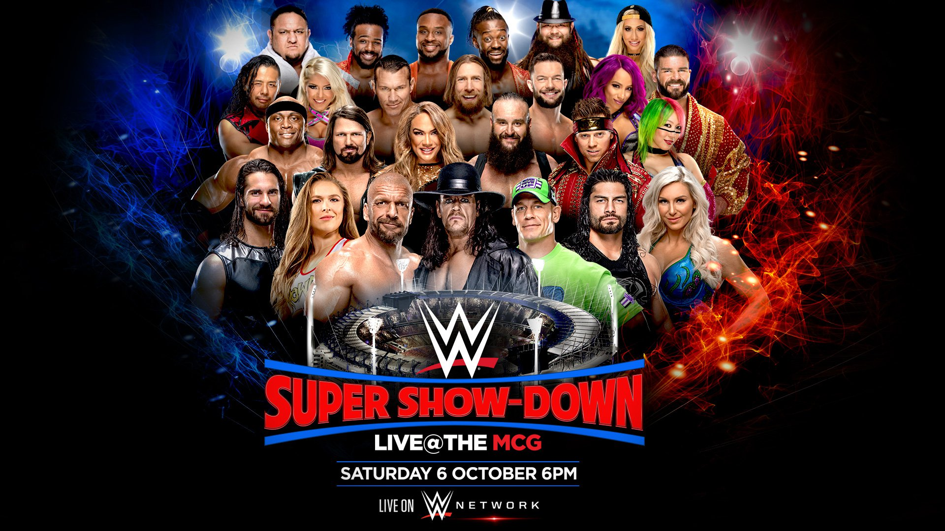 WWE Super Show-Down announced for Australia