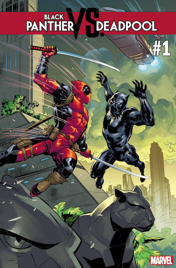 First Look: Black Panther vs. Deadpool #1 from Daniel Kibblesmith and Ricardo Lopez Ortiz this October