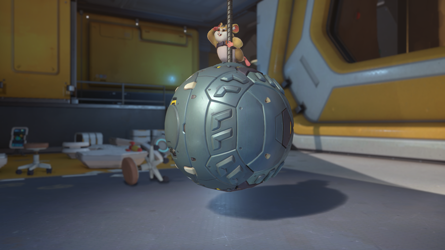 Overwatch's newest hero, Hammond the hamster aka Wrecking Ball, goes live next week