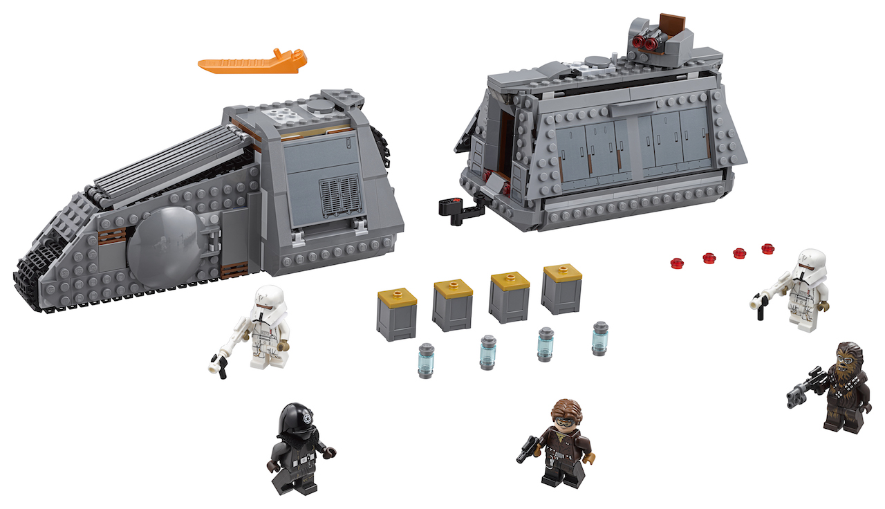 First Look:  'Solo: A Star Wars Story'  Imperial Conveyex Transport