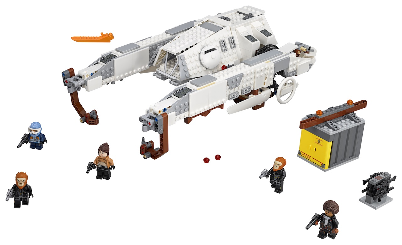 New 'Star Wars' cargo ship and minifigures coming from LEGO.