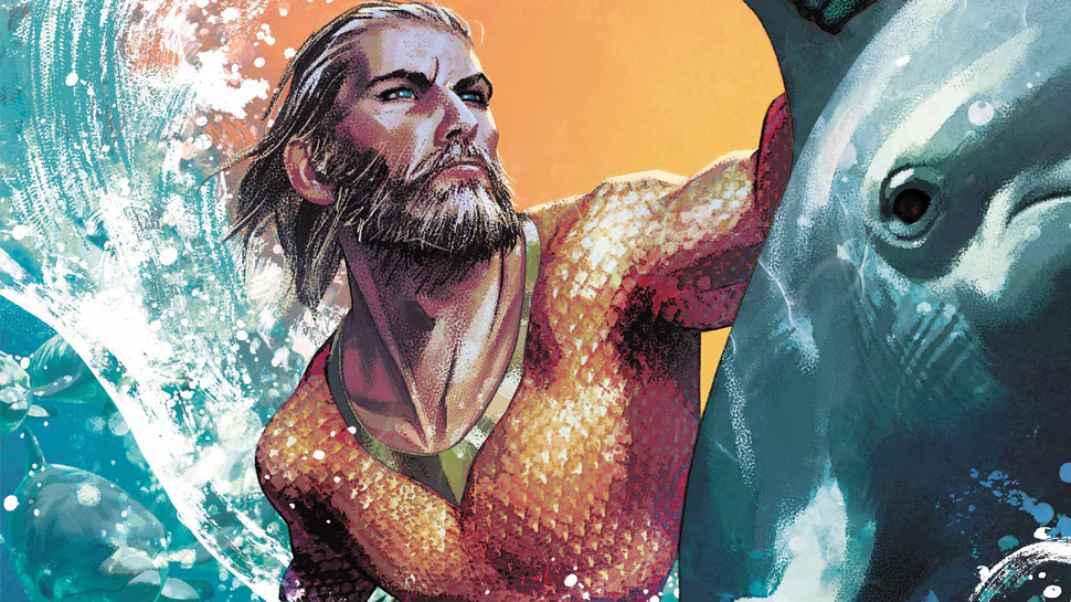Kelly Sue DeConnick takes over Aquaman later this year -- Jim Lee spills all the details at SDCC