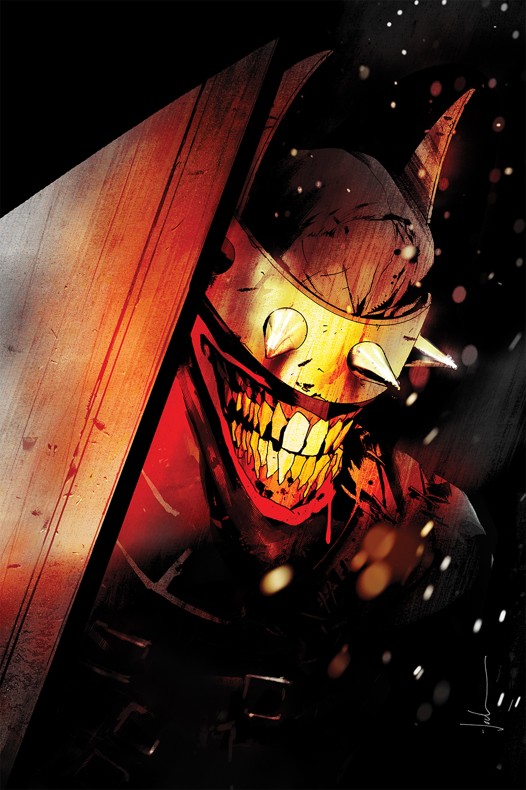 Scott Snyder and Jock reunite for 'The Batman Who Laughs' in November