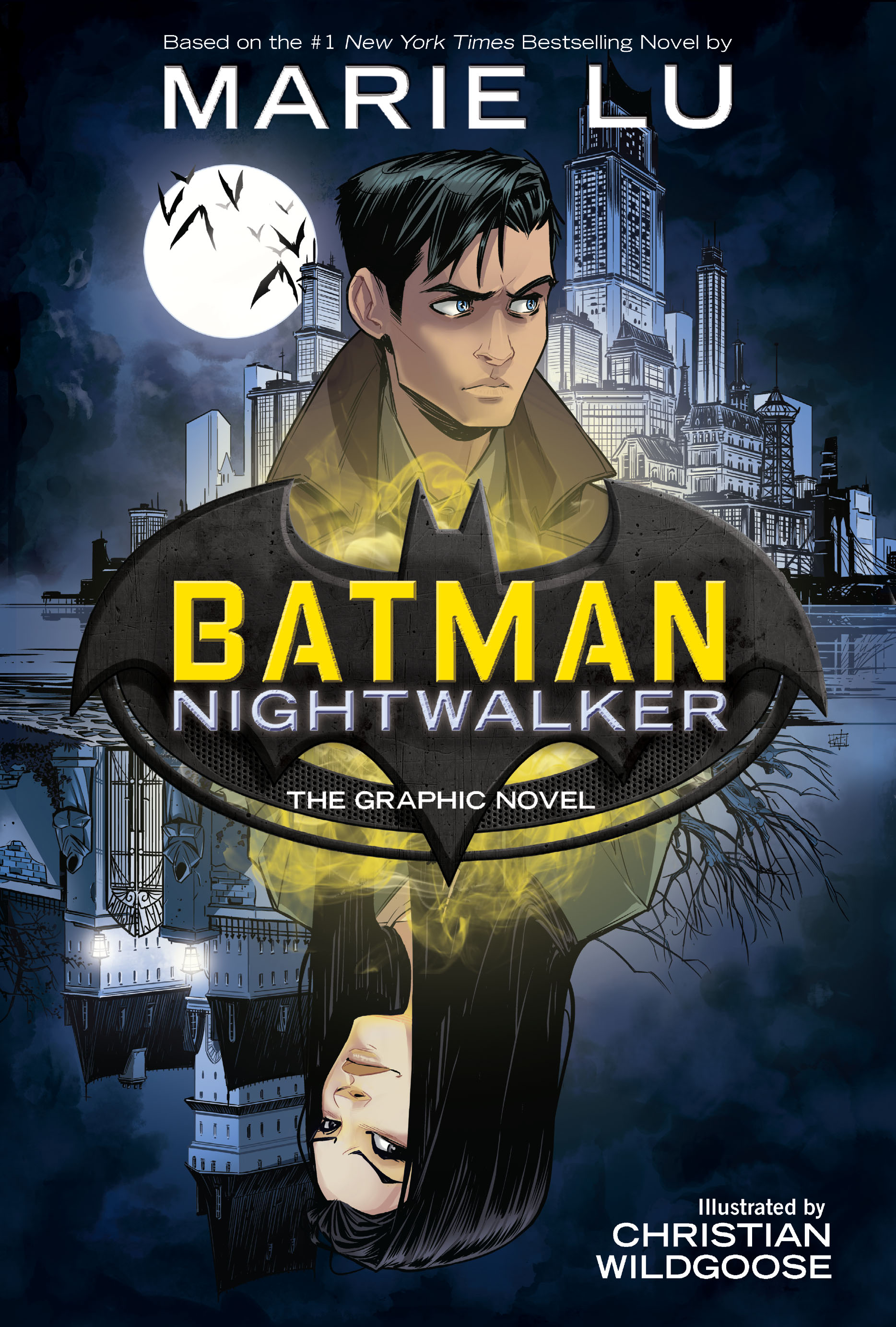 DC announces new young adult and middle grade graphic novels, including 'Batman: Nightwalker'