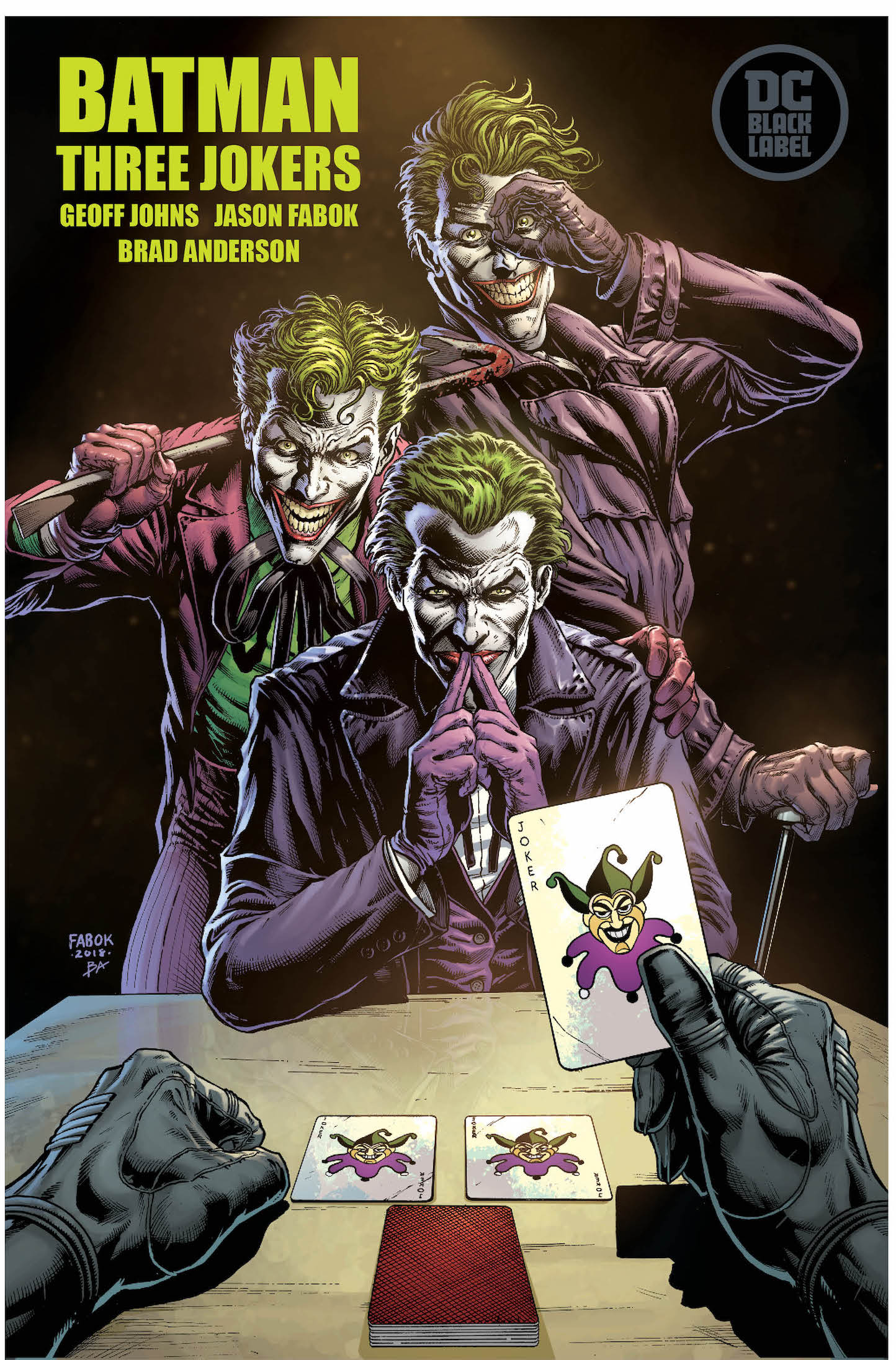 DC Comics hypes 'Batman: Three Jokers' #1 with a scarred Batman