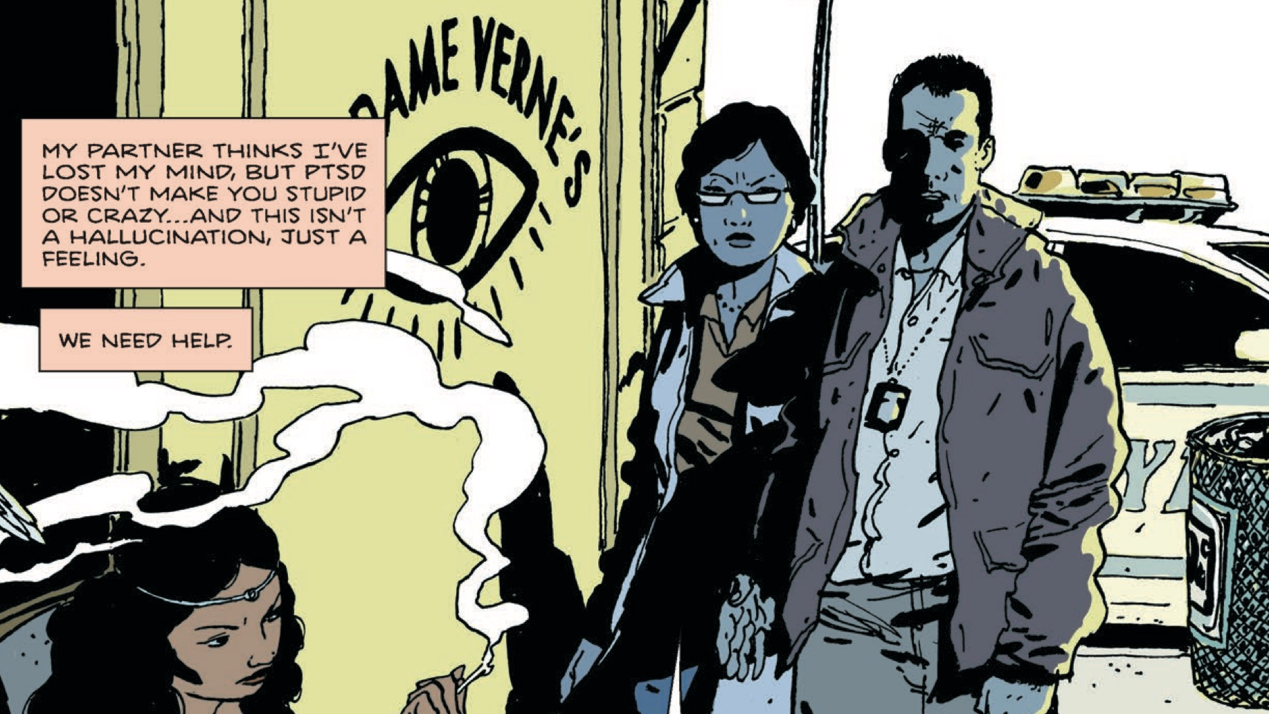 Paul Levitz on walking wounded and 'Brooklyn Blood'