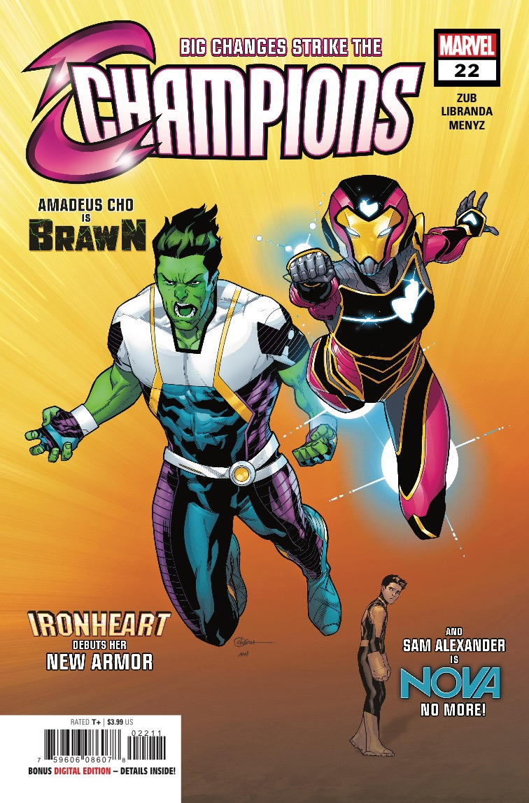 Marvel Preview: Champions #22