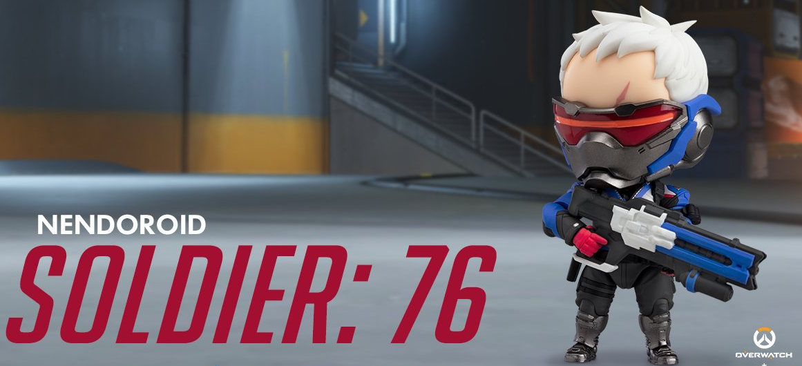 First look: Blizzard's new Nendoroid Soldier: 76 collectible