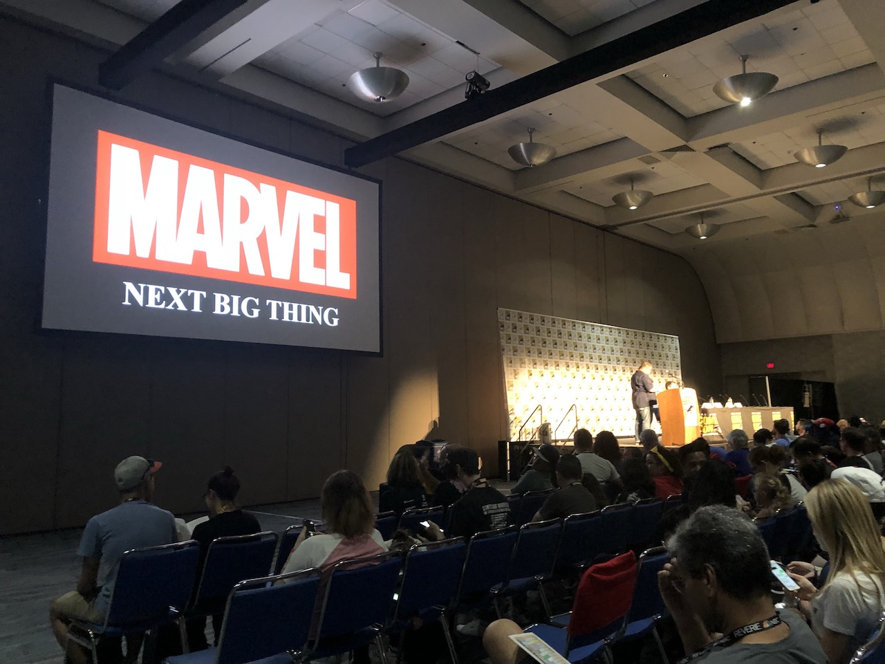 C.B. Cebulski hosted a panel that revealed new Fantastic Four characters, a new Vision series, and a Donny Cates tattoo.