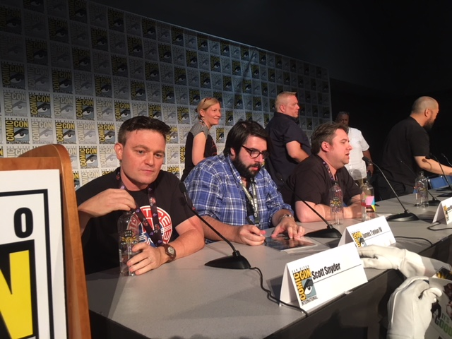 The brothers of the Justice League share it all at SDCC 2018
