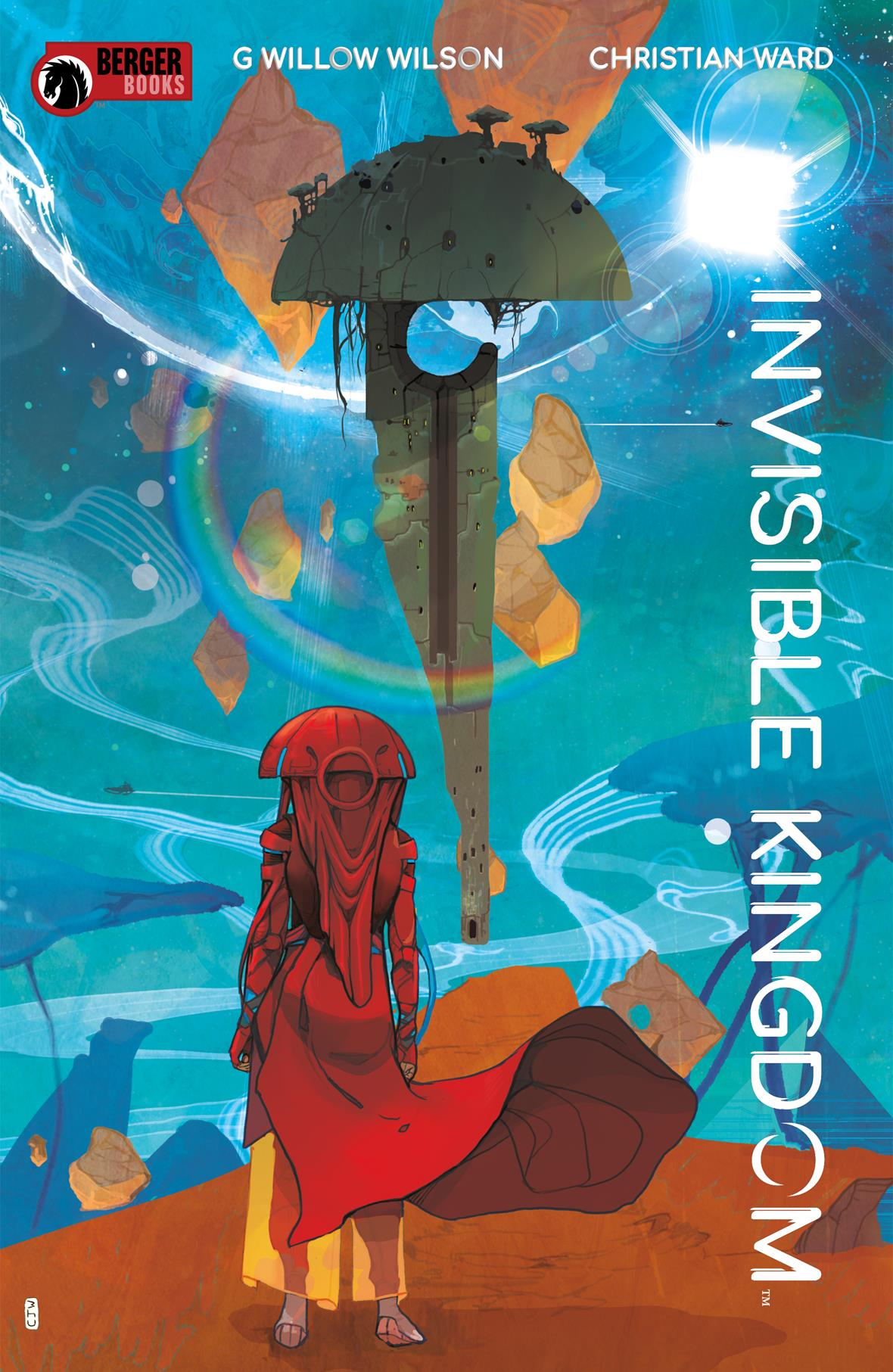 Dark Horse announces G. Willow Wilson's 'Invisible Kingdom', coming March 2019
