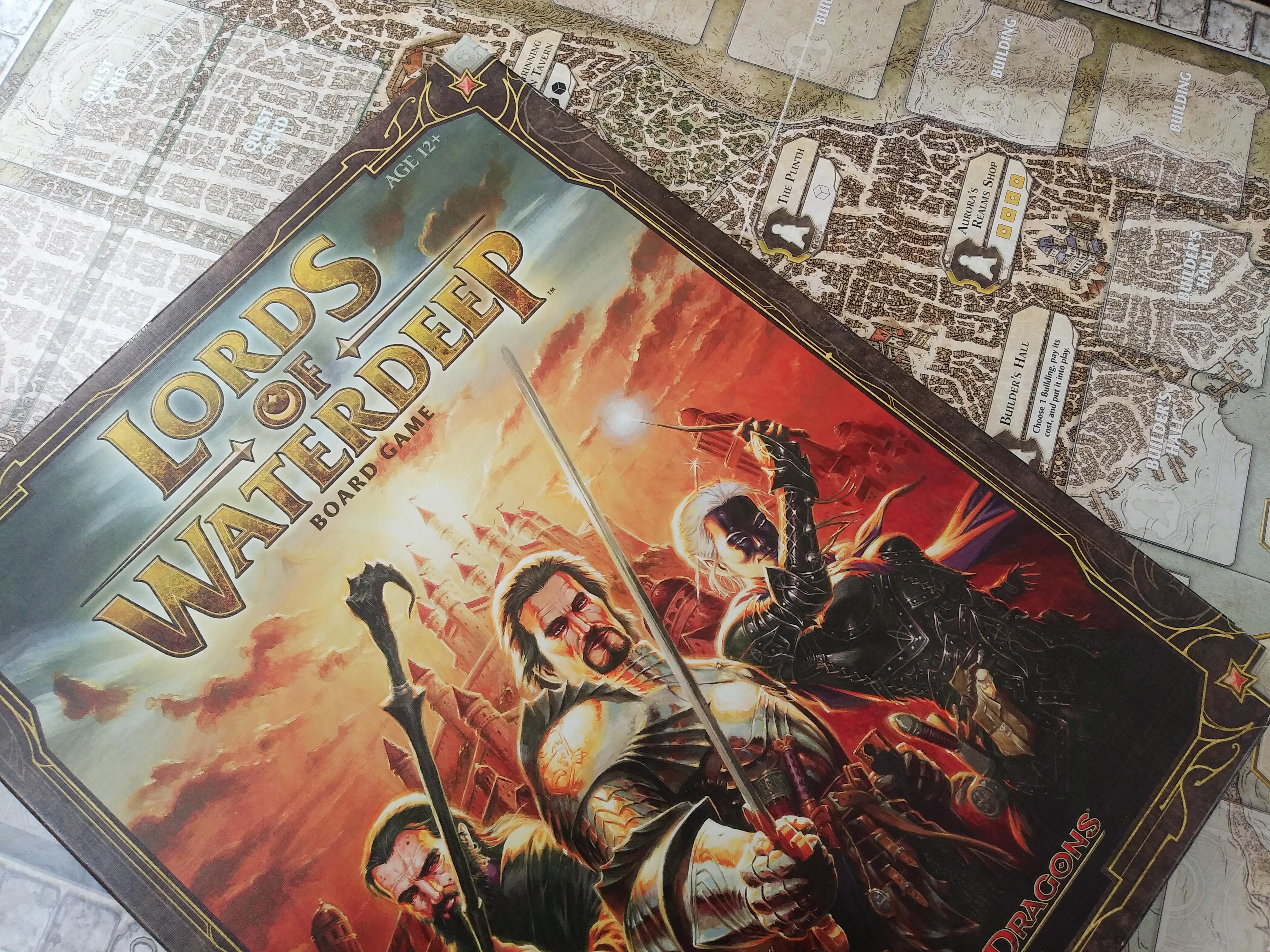 Lords Of Waterdeep Review: You're A Wizard, Harry