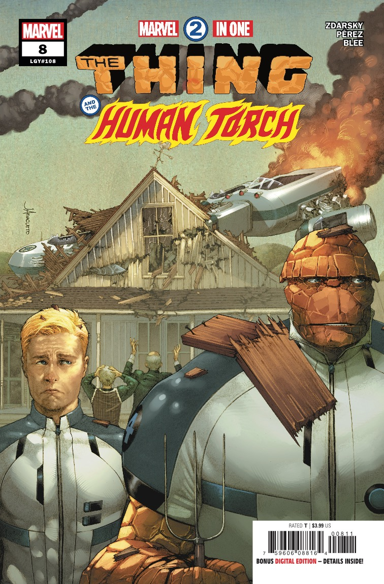 Marvel Two-in-One #8 review: The gutpunch you've been waiting for