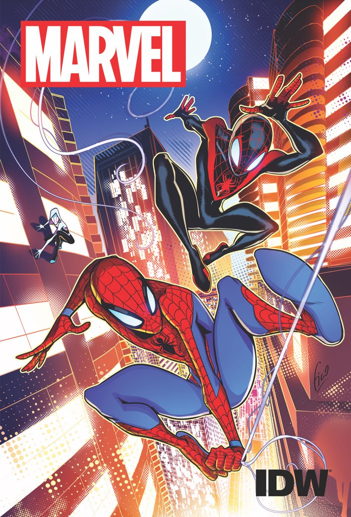 IDW will be creating kids' comics featuring Marvel characters this fall