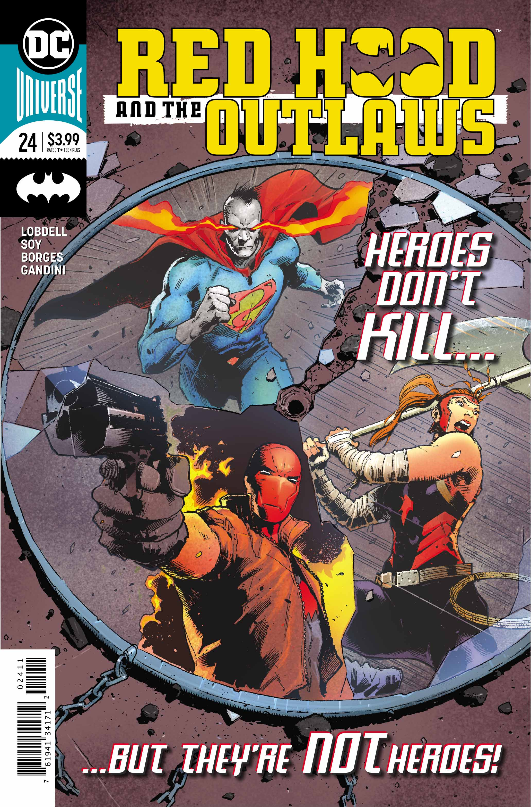 Red Hood and the Outlaws #24 review: Exciting, explosive, and one of the best yet