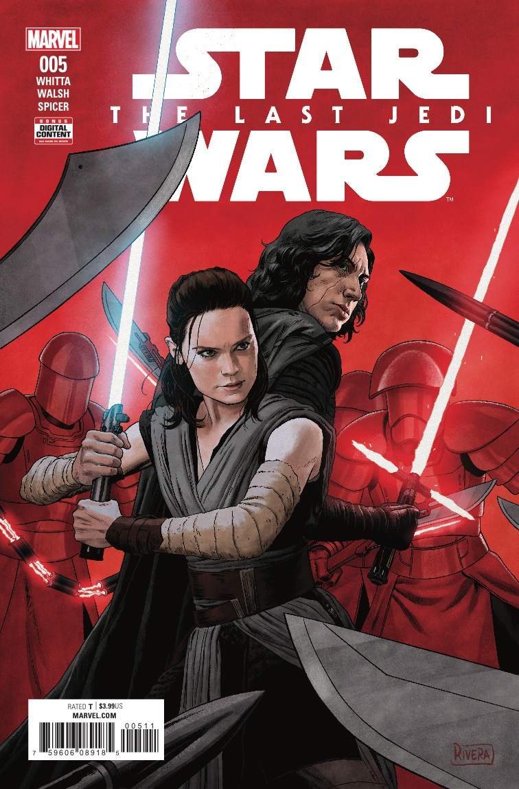 Marvel Preview: Star Wars: The Last Jedi Adaptation #5