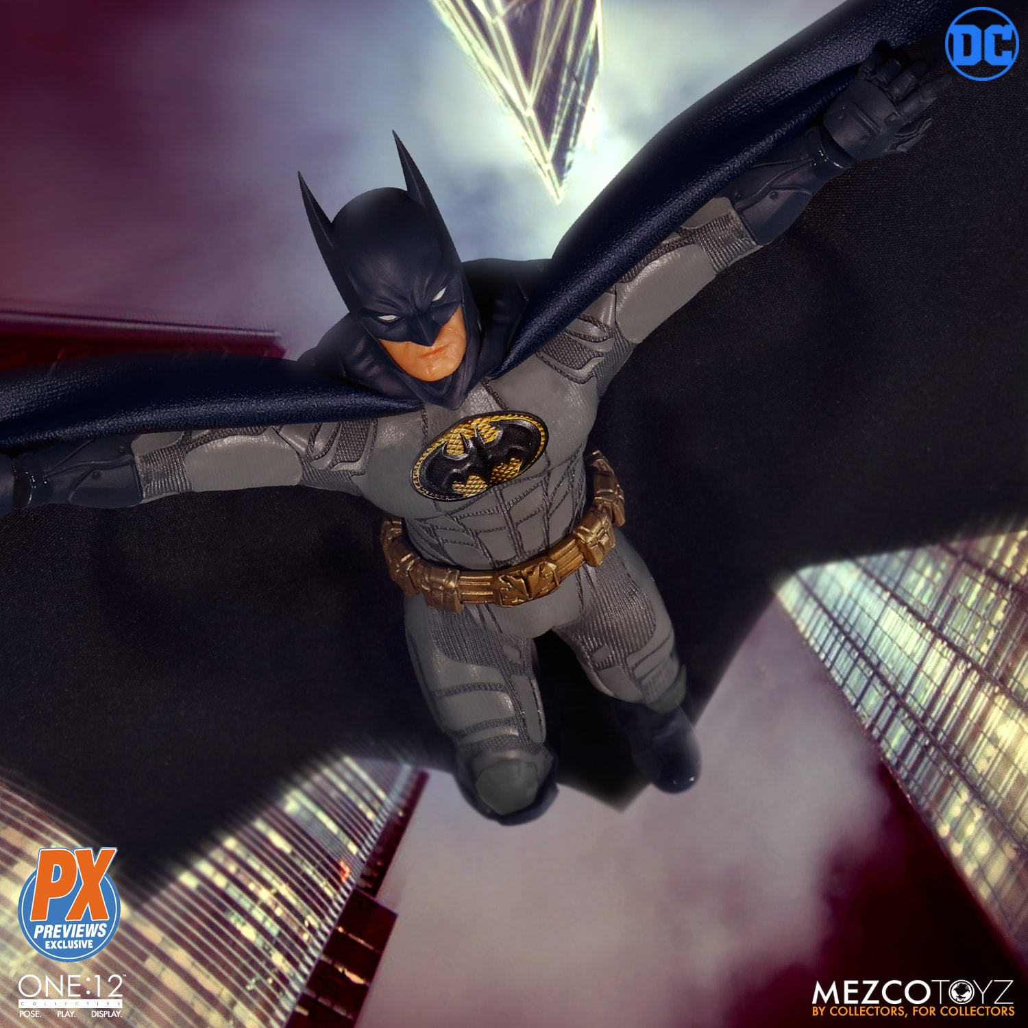 Previews Exclusive One:12 Batman: Sovereign Knight