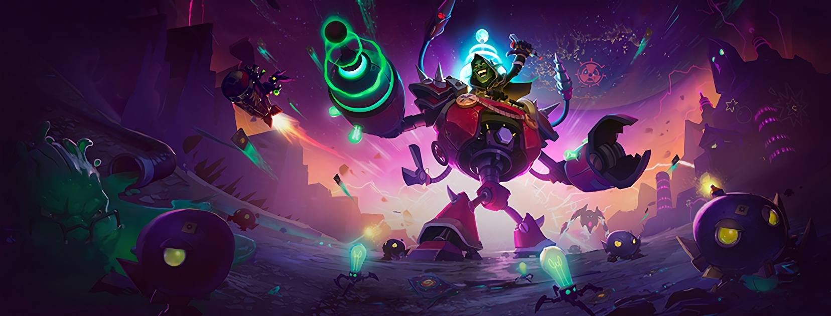 Hearthstone: The Boomsday Project: Official Twitch card reveal livestream with Brian Kibler and Peter Whalen