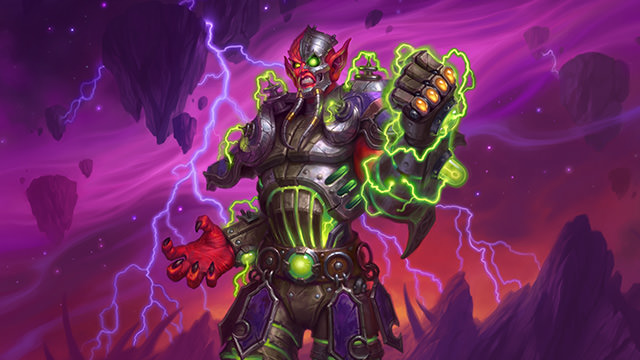 Hearthstone: The Boomsday Project: First look at Mecha-Jaraxxus Warlock hero skin and in-game emotes