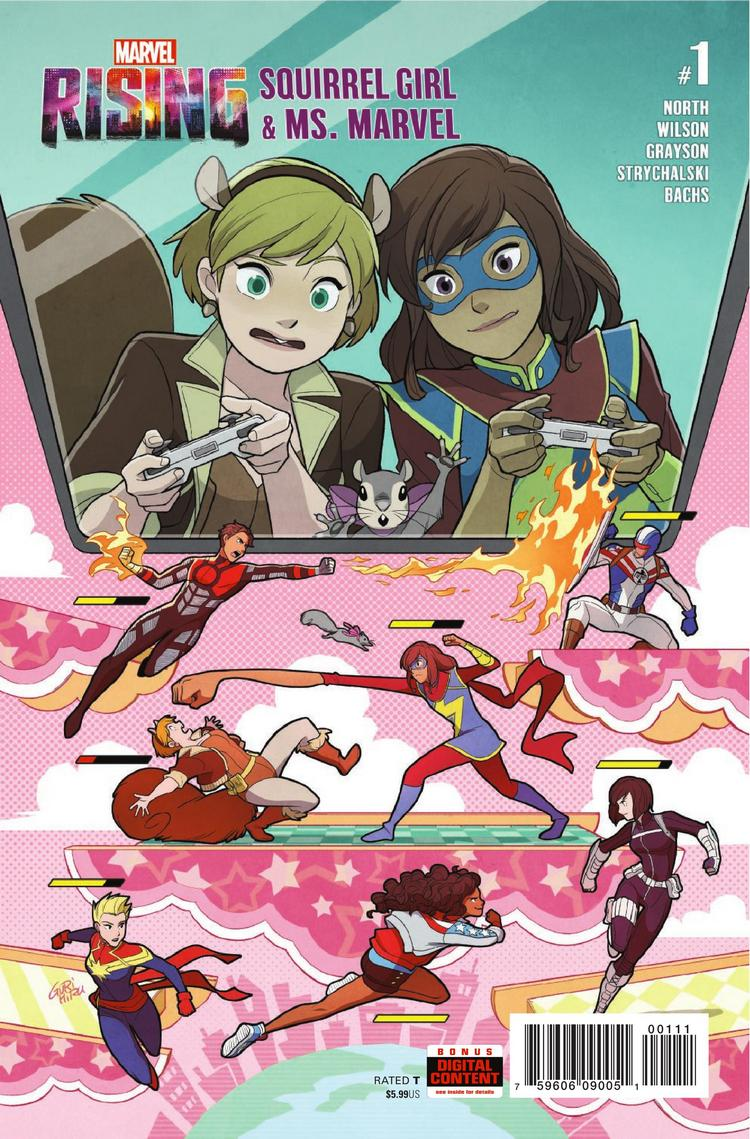 When it comes to Squirrel Girl and Ms. Marvel, cross play is supported and a lot of fun in this team-up special!