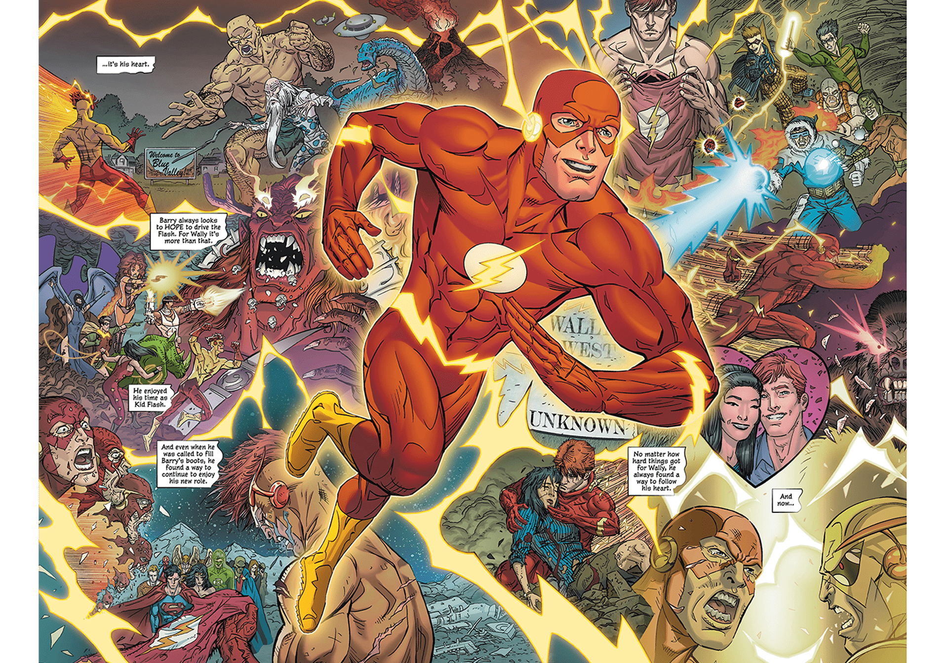 The Life Story of Wally West. With Flash War over, what will become of DC's best speedster?