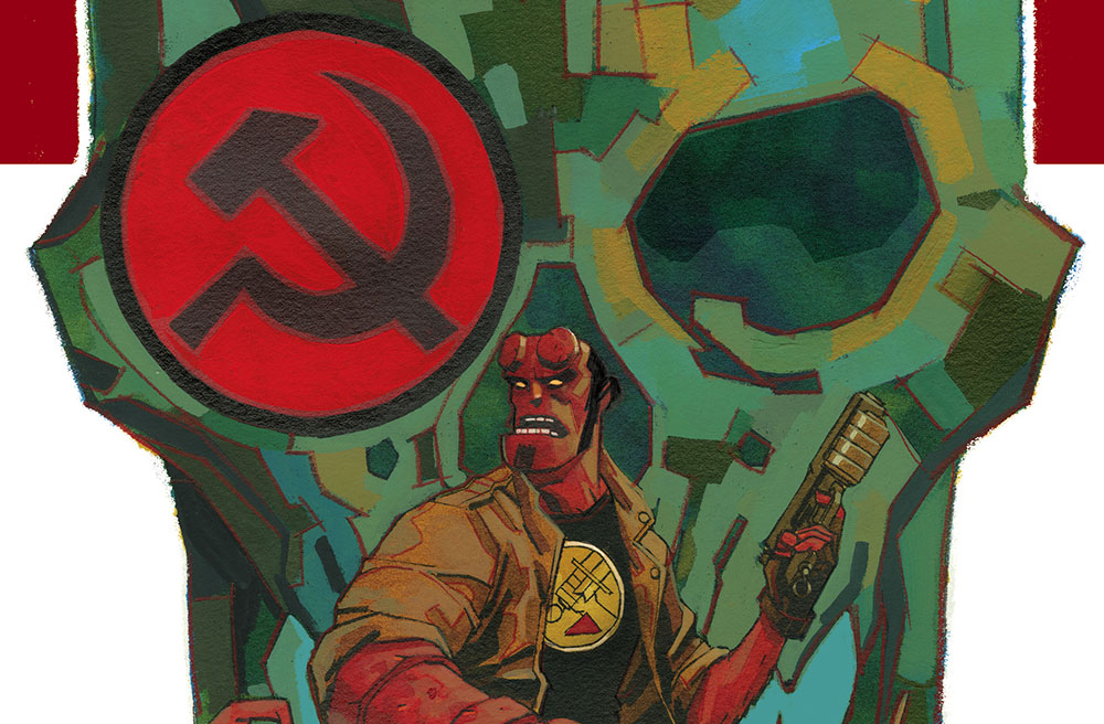 Dark Horse celebrates the 25th Anniversary of Hellboy's first appearance at San Diego Comic-Con with new Mignolaverse announcements