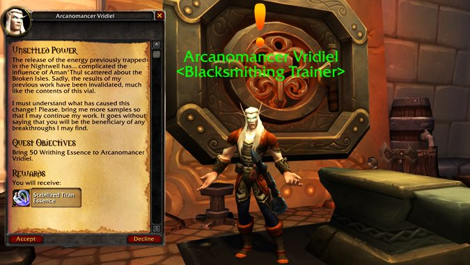 World of Warcraft: Specific Legion legendary items will be for sale in the BFA pre-patch