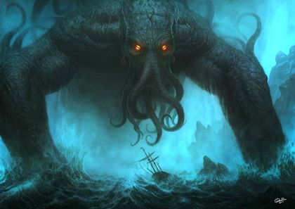 From the stars above:  Lovecraft, Cthulhu, and Ancient Aliens