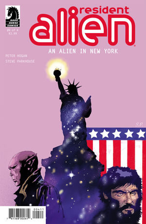 Resident Alien: An Alien in New York #4 review: Ending on a less mysterious note than expected