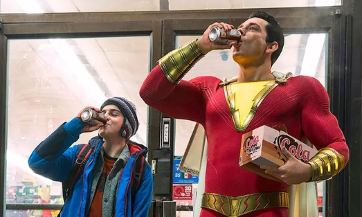 First poster revealed for DC Comics and Warner Bros. upcoming Shazam!