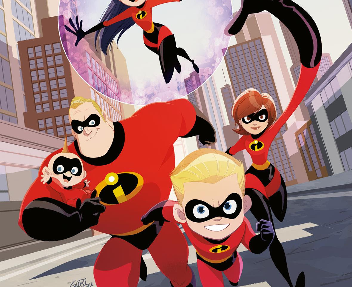 Dark Horse Preview: The Incredibles 2 #1: Crisis in Mid-Life!