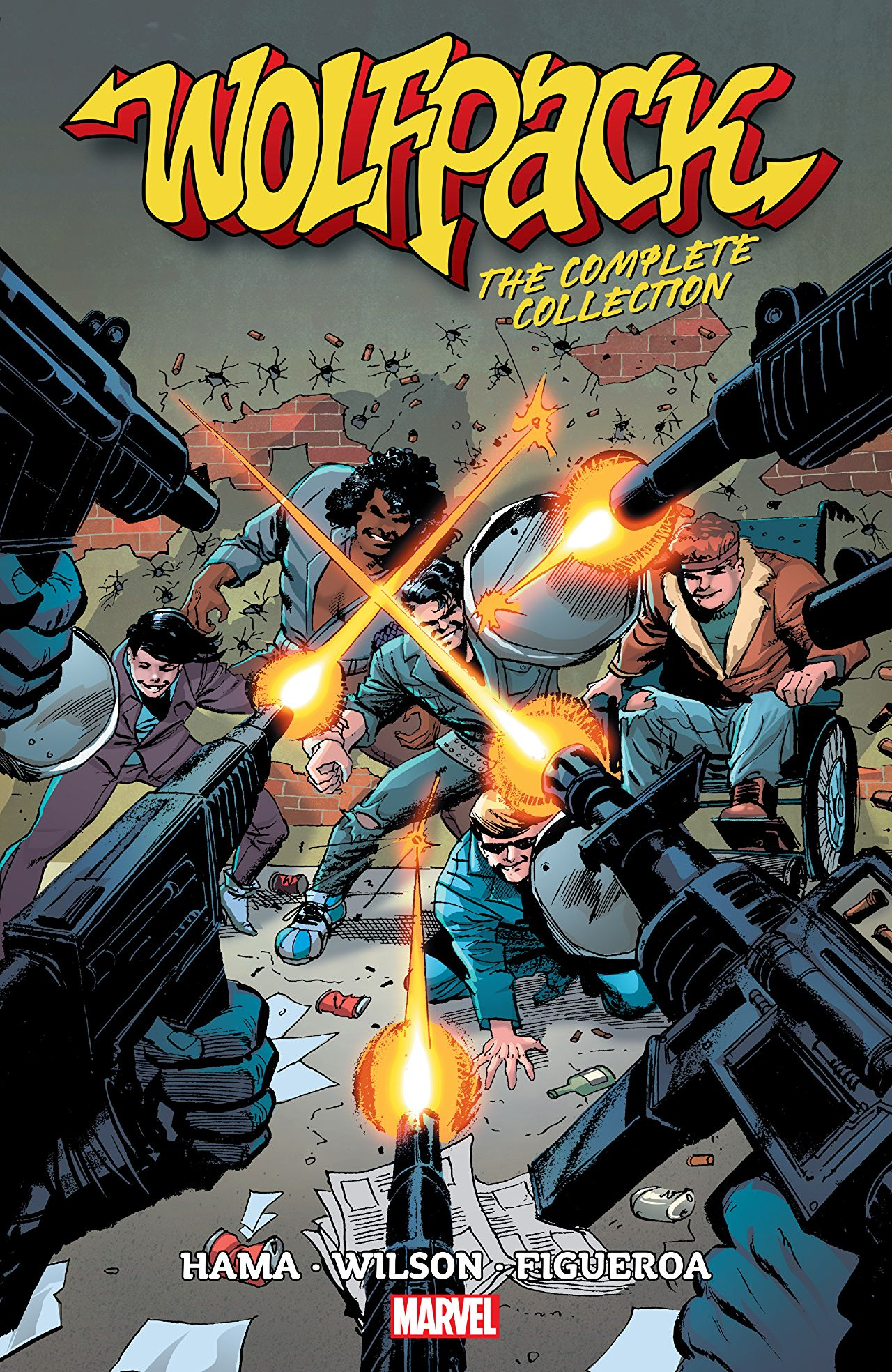 'Wolfpack: the Complete Collection' review: A classic Larry Hama creation