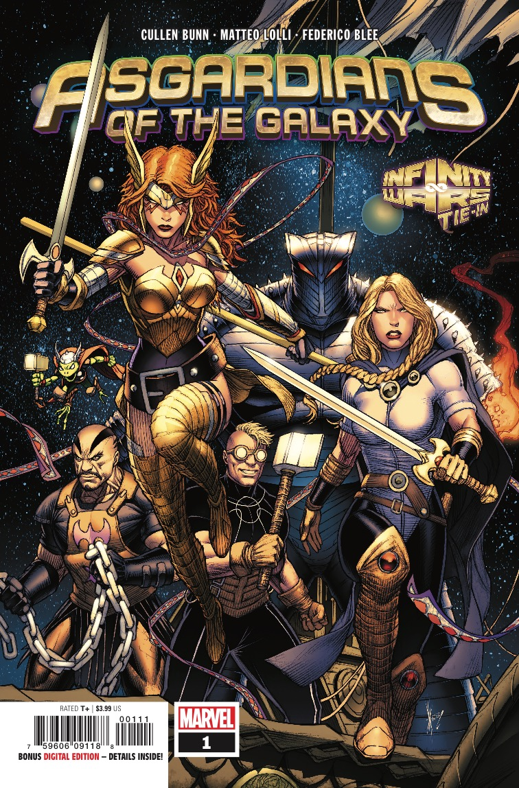 'Asgardians of the Galaxy' #1 review: A fun fantasy vibe with sci-fi sensibilities