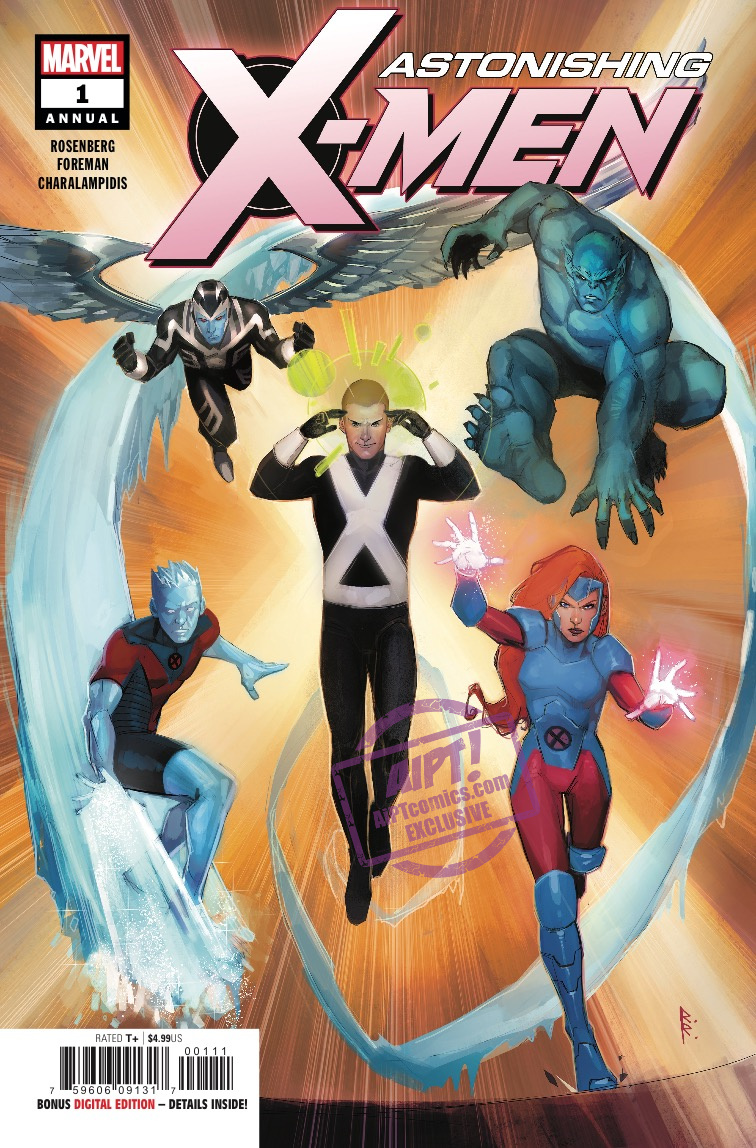 The original X-Men are back together, and that freaky new version of Charles Xavier is crashing the party!