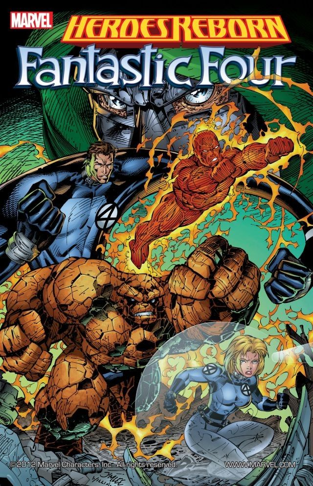 Revisit Marvel's first attempt at relaunching the Fantastic Four.