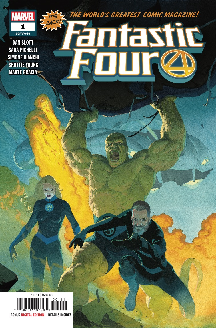 Fantastic Four #1 review: The first family is back