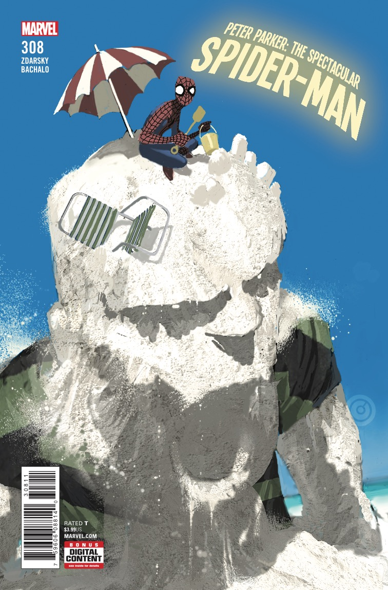 Peter Parker:  The Spectacular Spider-Man #308 review -- You will cry for the Sandman