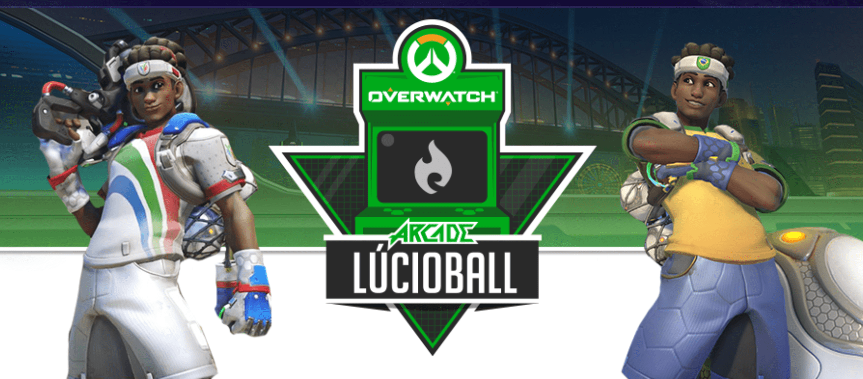 Lúcio comin' at you! Register NOW.