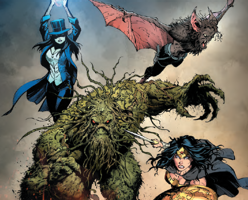 The realm of magic continues to gain importance in the DC universe.