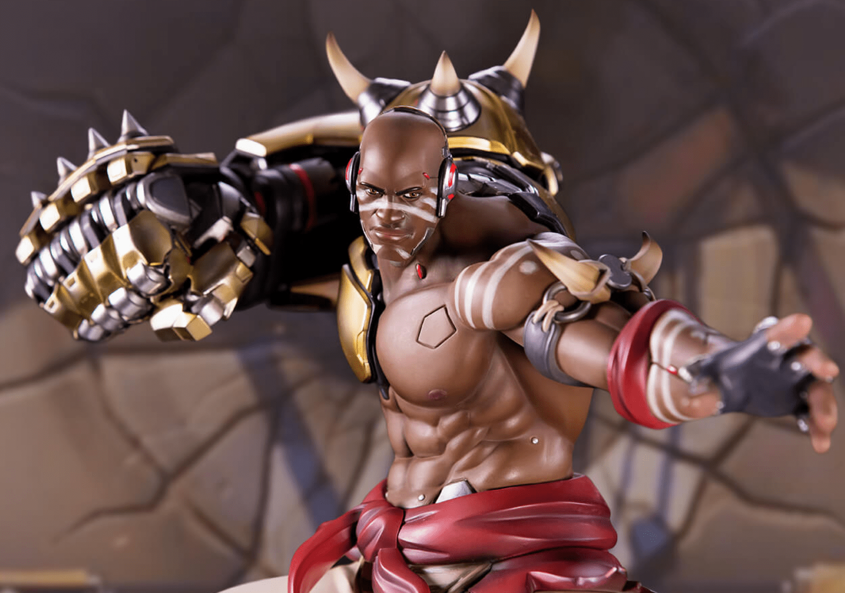Blizzard announces new statue for Overwatch's Doomfist
