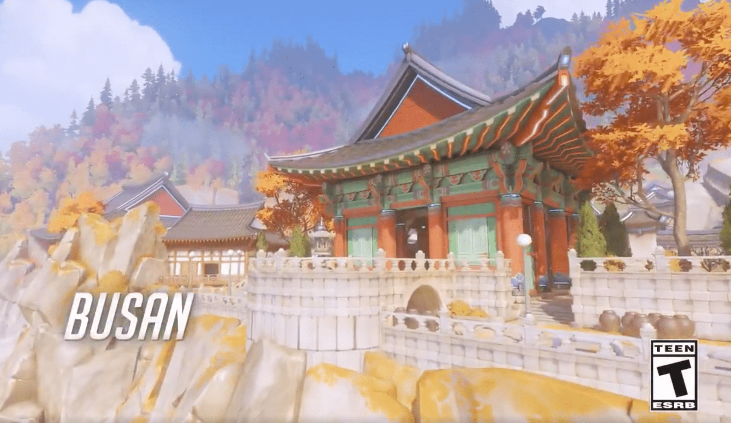 New control map coming to Overwatch, set in Busan, South Korea