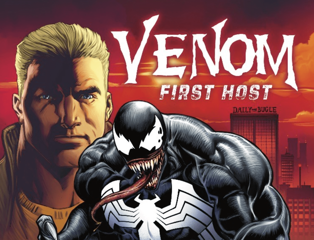 Before the AMAZING SPIDER-MAN…before VENOM… There was the FIRST HOST.