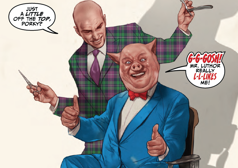 Lex Luthor/Porky Pig #1 Review