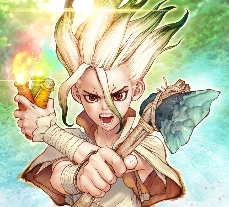Dr. Stone Vol. 1 Review