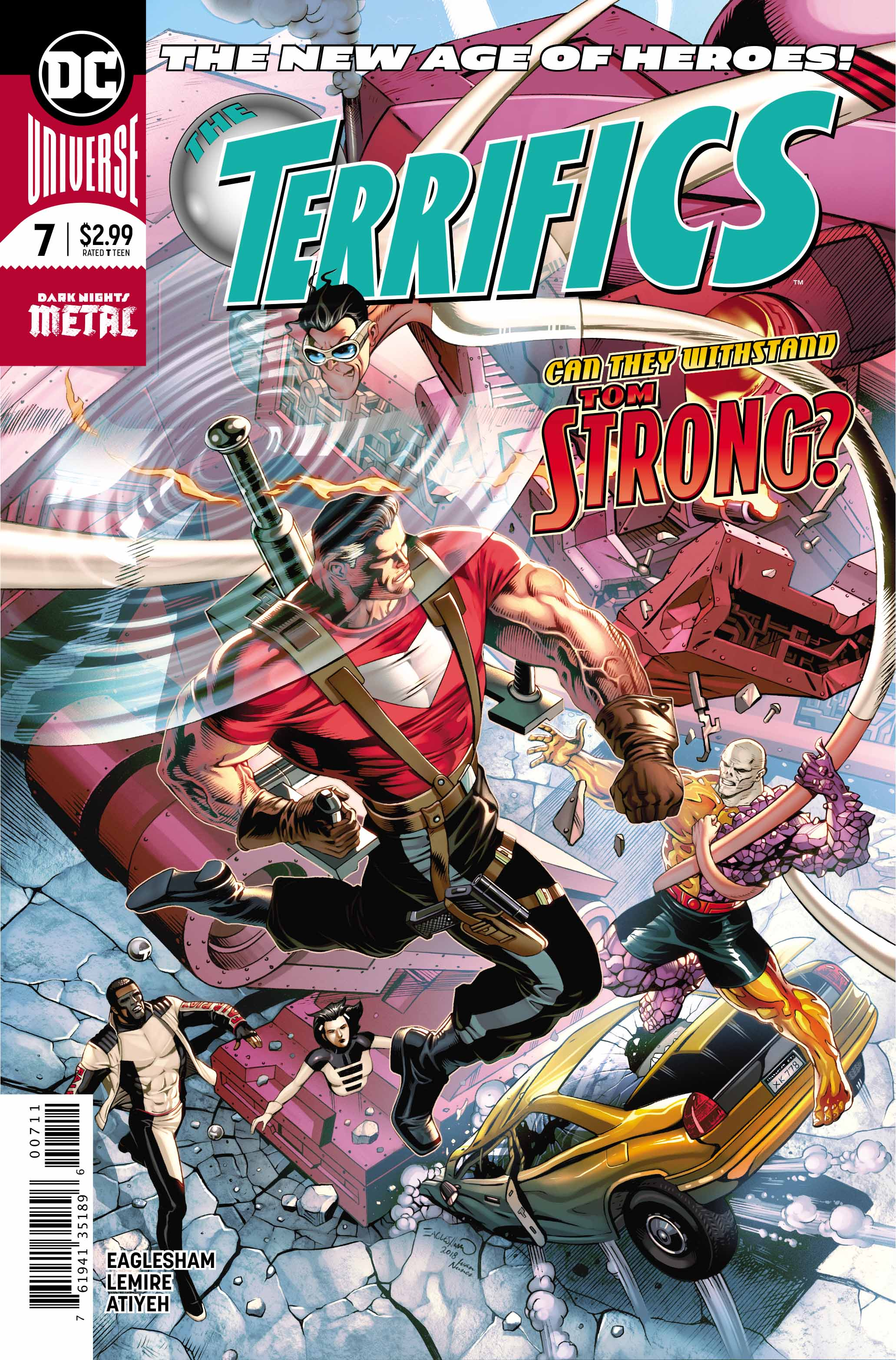 The Terrifics #7 review: Tom Strong is here!