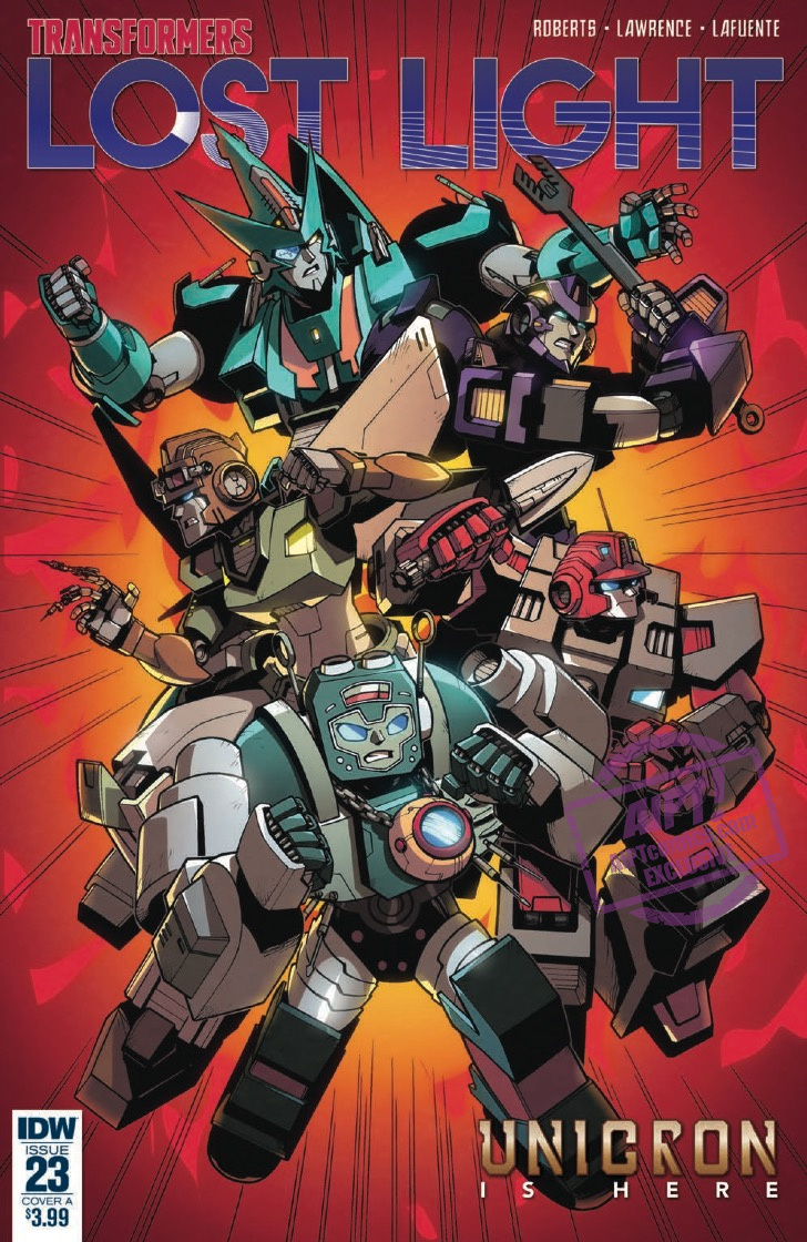 Transformers: Lost Light #23 review