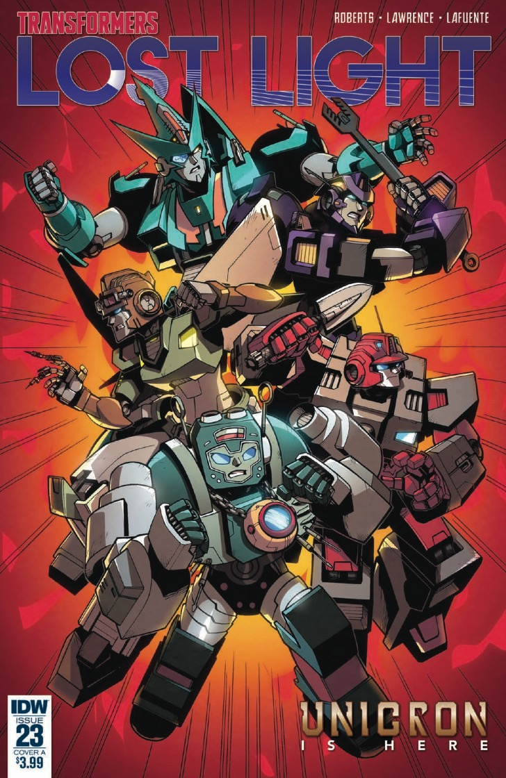 [EXCLUSIVE] IDW Preview: Transformers: Lost Light #23