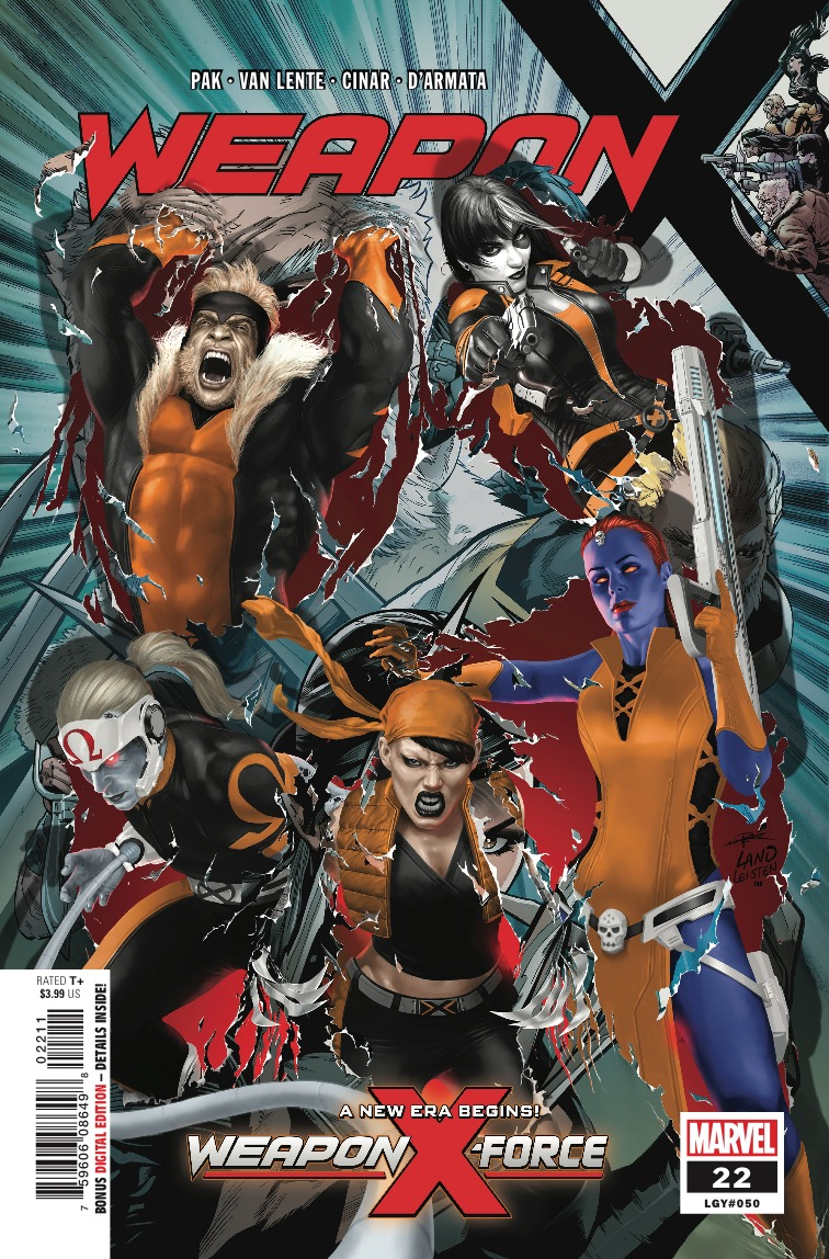 Marvel Preview: Weapon X #22